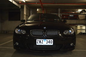 2008 BMW 325d M Sport Coupe Black Sapphire 6sp - All Extras & ONLY 36K Mileage! image 7