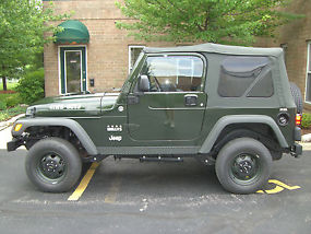Time Capsule 2005 Jeep Willys Edition