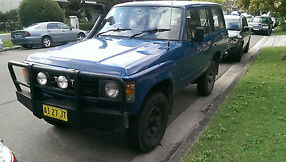 Toyota Landcruiser (4x4) (1986) 4D Wagon 5 SP Manual 4x4 (4L - Diesel) image 1