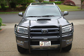 2004 Toyota 4 Runner Sport Edition 4-Door, 4WD, V8, 1 Owner, Galactic Gray image 2
