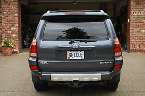 2004 Toyota 4 Runner Sport Edition 4-Door, 4WD, V8, 1 Owner, Galactic Gray image 3