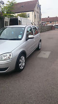 2005 VAUXHALL CORSA BREEZE SILVER image 1