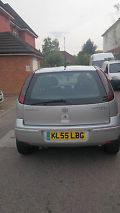 2005 VAUXHALL CORSA BREEZE SILVER image 3