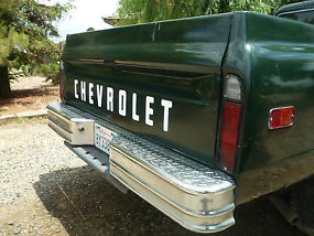 1972 Chevrolet C-20 Fleetside 3/4 Ton Driver/Project image 5