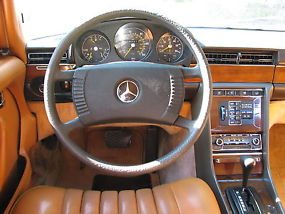 1979 Mercedes 300SD Turbodiesel  Classic Light Yellow with Tan
