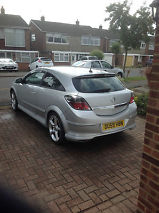 2009 VAUXHALL ASTRA SRI XP SILVER image 3