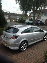 2009 VAUXHALL ASTRA SRI XP SILVER image 4