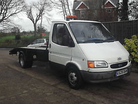 FORD TRANSIT 190 LWB RECOVERY TRUCK BREAKDOWN BEAVERTAIL BANGER TRACK TOW DIESEL