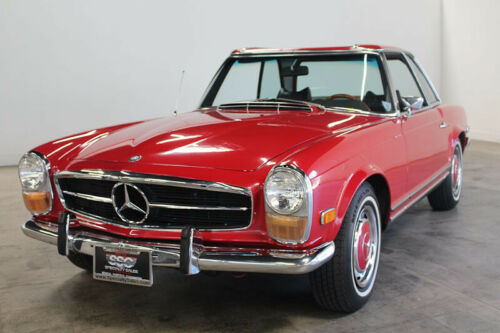1970 Mercedes Benz 280SL 35345 Miles Red Roadster