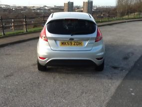 2009 FORD FIESTA ZETEC 82 SILVER image 3