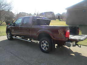 2012 Ford F-350 Super Duty Lariat Crew Cab Pickup 4-Door 6.7L image 1