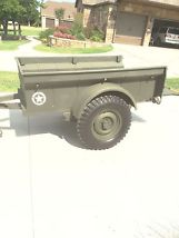 1946 CJ2A Willys and Bantam Trailer image 7