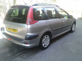 Peugeot 206 SW Estate image 2