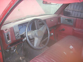 1989 Chevrolet S10 Base Standard Cab Pickup 2-Door 2.5L image 7