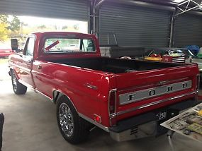 1969 Ford F250 Ranger Camper Special 360 V8 Auto Air Power Steer  image 3