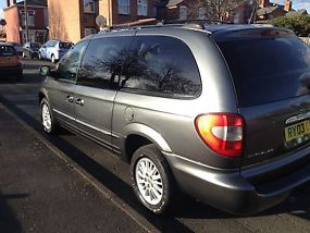 2003 CHRYSLER GRAND VOYAGER LIMITED AUT GREY image 3