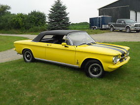 1963 Corvair Syder Convertible/Show Winning Paint/43,968 miles image 4
