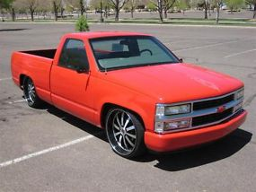 1998 Chevrolet C1500 Silverado Chopped Amp Dropped Custom