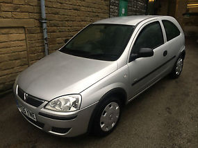 2005 VAUXHALL CORSA LIFE TWINPORT SILVER