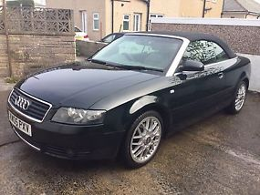 2005 AUDI A4 1.8T CABRIOLET SPORT - SUPERB CONDITIONLOW MILESSERVICE HISTORY