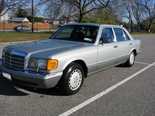 1986 Mercedes-Benz 500-Series 560 SEL