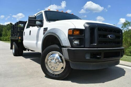 2008  Super Duty F-550 DRW XL 79800 Miles White Pickup Truck 8 Automatic