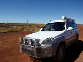 4WD Hyundai Terracan 2004 Model set up for travelling