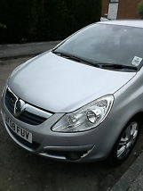 2008 VAUXHALL CORSA DESIGN SILVER image 1