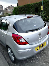 2008 VAUXHALL CORSA DESIGN SILVER image 4