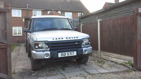 Landrover Discovery td5 pos p/x for van