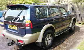 4x4 Mitsubishi Shogun Sport Equippe 2.5 turbo diesel might take px image 2