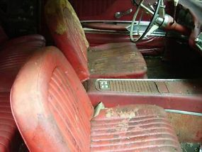 1960 Ford ThunderbirdHardtop 2-DoorComplete Parts CarRed Leather Interior image 5