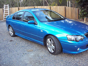 Ford Falcon XR6 Turbo (2004) sedan, auto, cloth trim, P/S, A/C, towbar, unreg