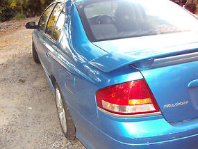 Ford Falcon XR6 Turbo (2004) sedan, auto, cloth trim, P/S, A/C, towbar, unreg image 4
