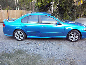 Ford Falcon XR6 Turbo (2004) sedan, auto, cloth trim, P/S, A/C, towbar, unreg image 6