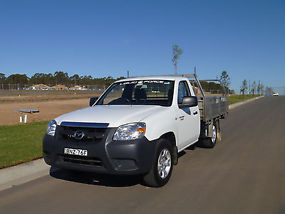 2010 Mazda BT-50 B2500 Boss DX Cab Chassis Single Cab 2dr Man 5sp 2.5DT (3st) image 2
