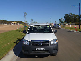 2010 Mazda BT-50 B2500 Boss DX Cab Chassis Single Cab 2dr Man 5sp 2.5DT (3st) image 3