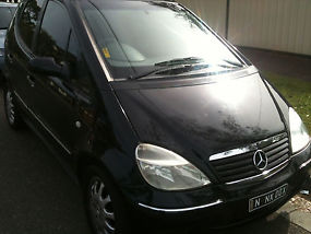 Mercedes-benz A160 LWB Elegance (2002) 5D Hatchback 4 SP Sequential Auto image 2