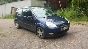 Ford Fiesta Zetec TDCI 55 plate salvage damaged unrecorded 3 door spares repair
