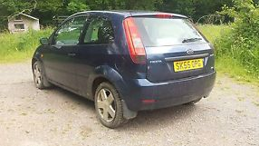 Ford Fiesta Zetec TDCI 55 plate salvage damaged unrecorded 3 door spares repair image 4