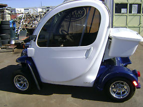 2008 GEM Electric Car---High speed motor, Loaded