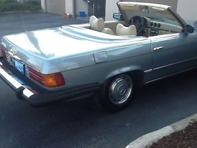 1976 Mercedes Benz 450SL Roadster Convertible image 4