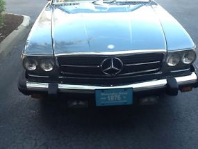 1976 Mercedes Benz 450SL Roadster Convertible image 6