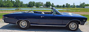 1967 Chevrolet Chevelle SS 396 Convertible (Clone) - Fresh Frame Off Restoration