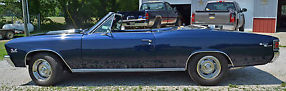 1967 Chevrolet Chevelle SS 396 Convertible (Clone) - Fresh Frame Off Restoration image 1