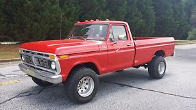 1977 ford f250 highboy lifted 4x4 351m automatic good condition runs great