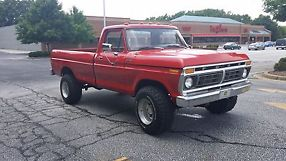 1977 ford f250 highboy lifted 4x4 351m automatic good condition runs great image 1