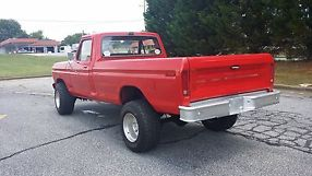1977 ford f250 highboy lifted 4x4 351m automatic good condition runs great image 3