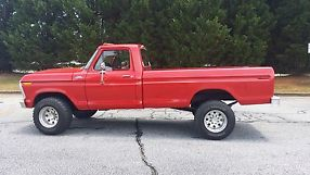 1977 ford f250 highboy lifted 4x4 351m automatic good condition runs great image 4