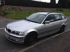 2004 BMW 320D ES TOURING SILVER image 1